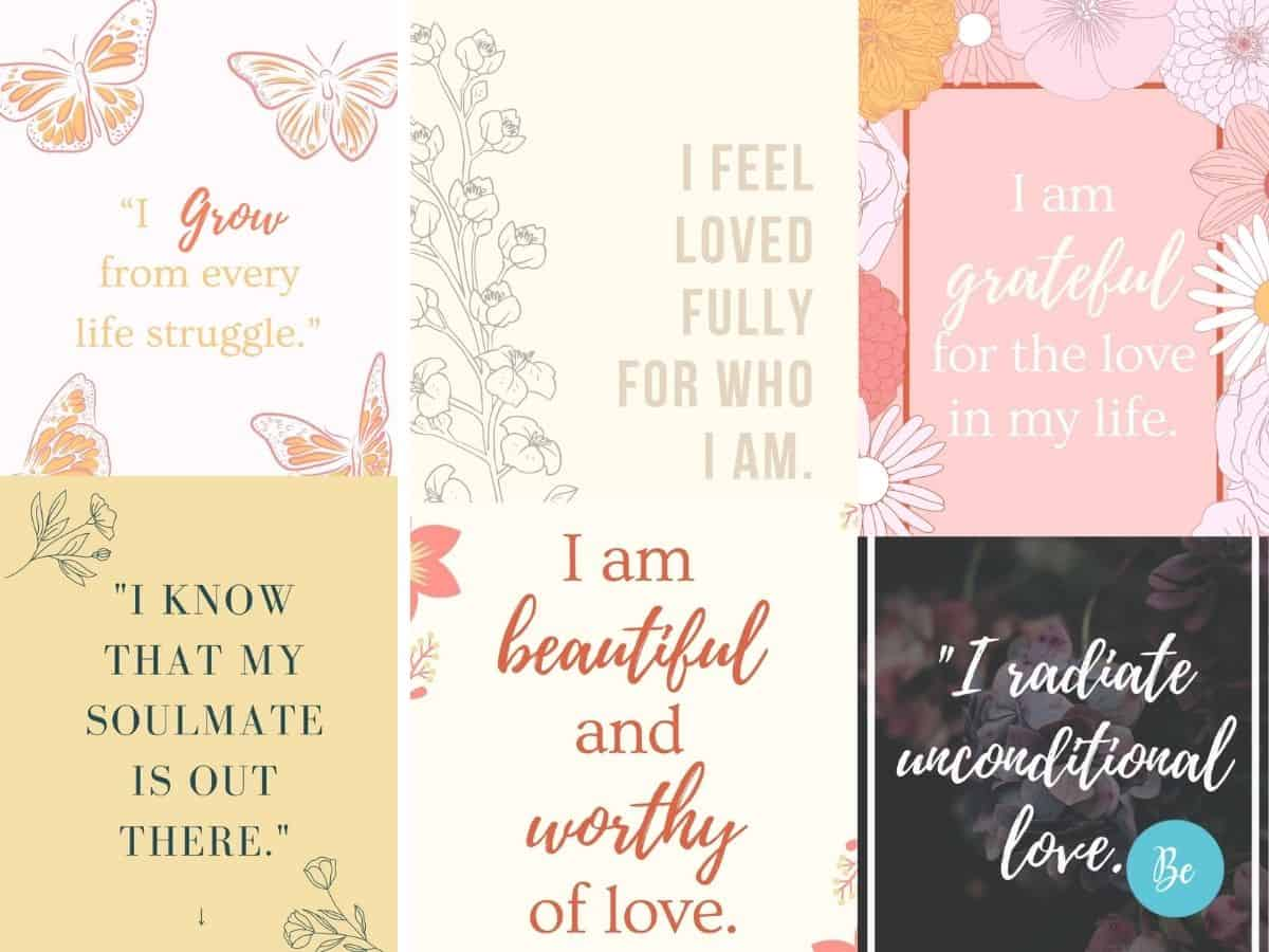 Love Affirmations to Attract Love and Romance