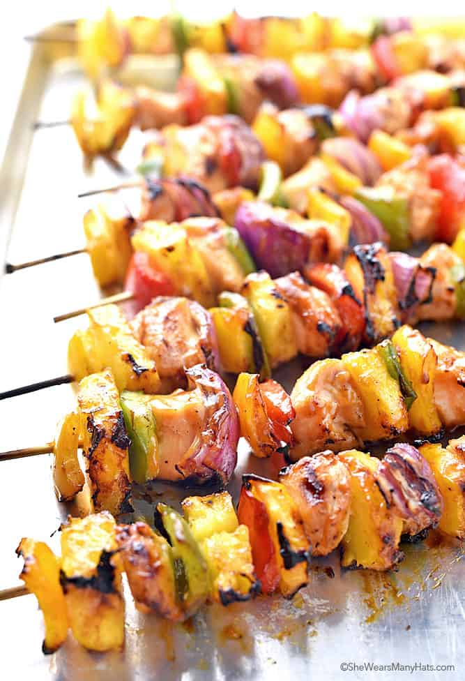 chicken kebobs football recipes, and tailgating recipes.
