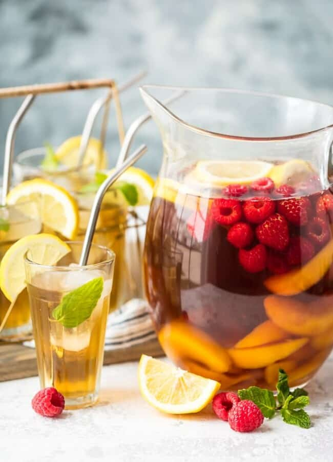 easy pitcher summer drinks