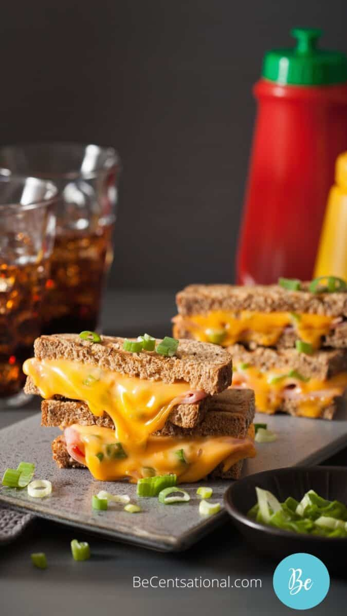 best grilled ham and cheese sandwich
