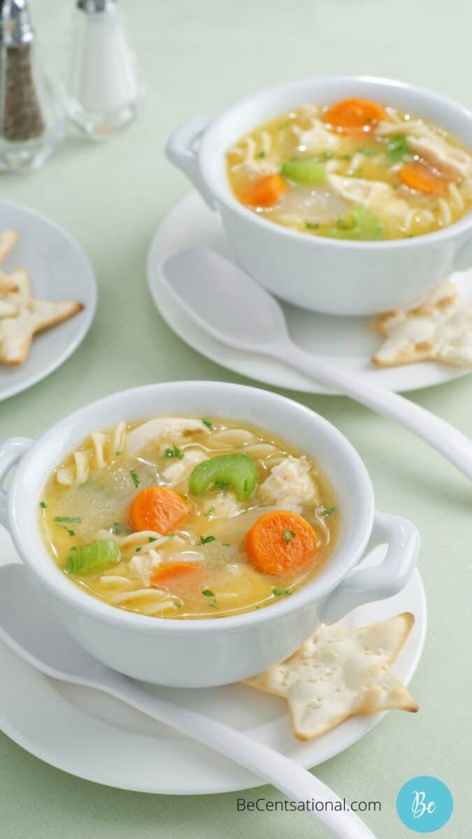 Healthy dinner recipes, Easy Chicken Noodle Soup