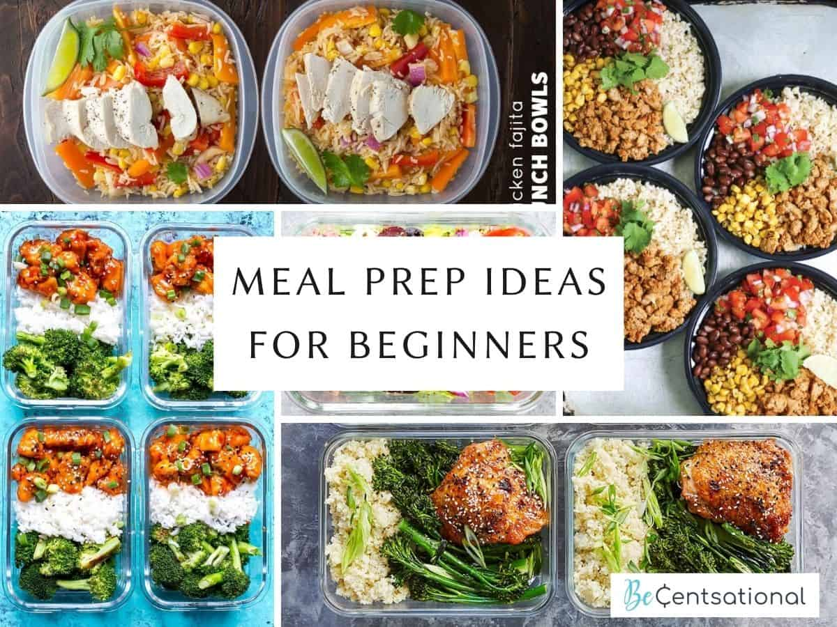 Meal Prep ideas for beginners: Easy healthy meals