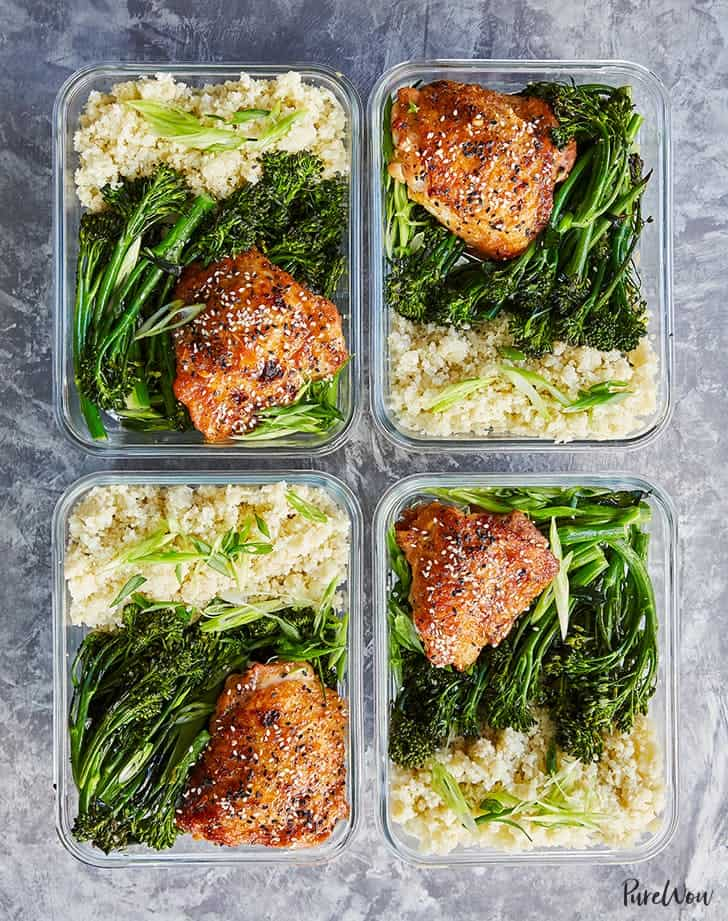 Sesame chicken with broccoli Meal Prep Ideas For Beginners