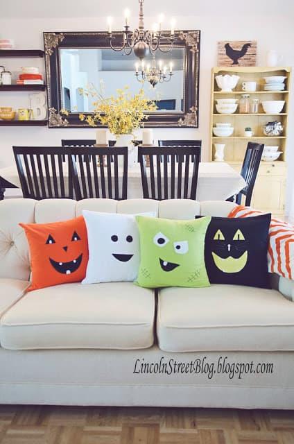 Cute halloween pillow cases