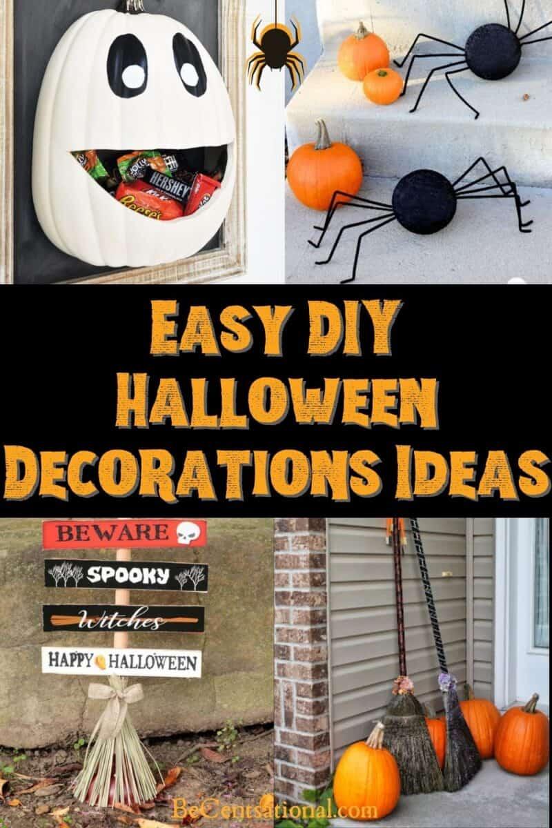 20 Easy DIY Halloween Decorations Ideas