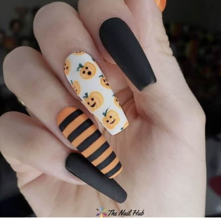 nails for halloween
