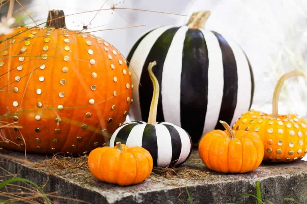 Elegant pumpkin halloween decorations idea