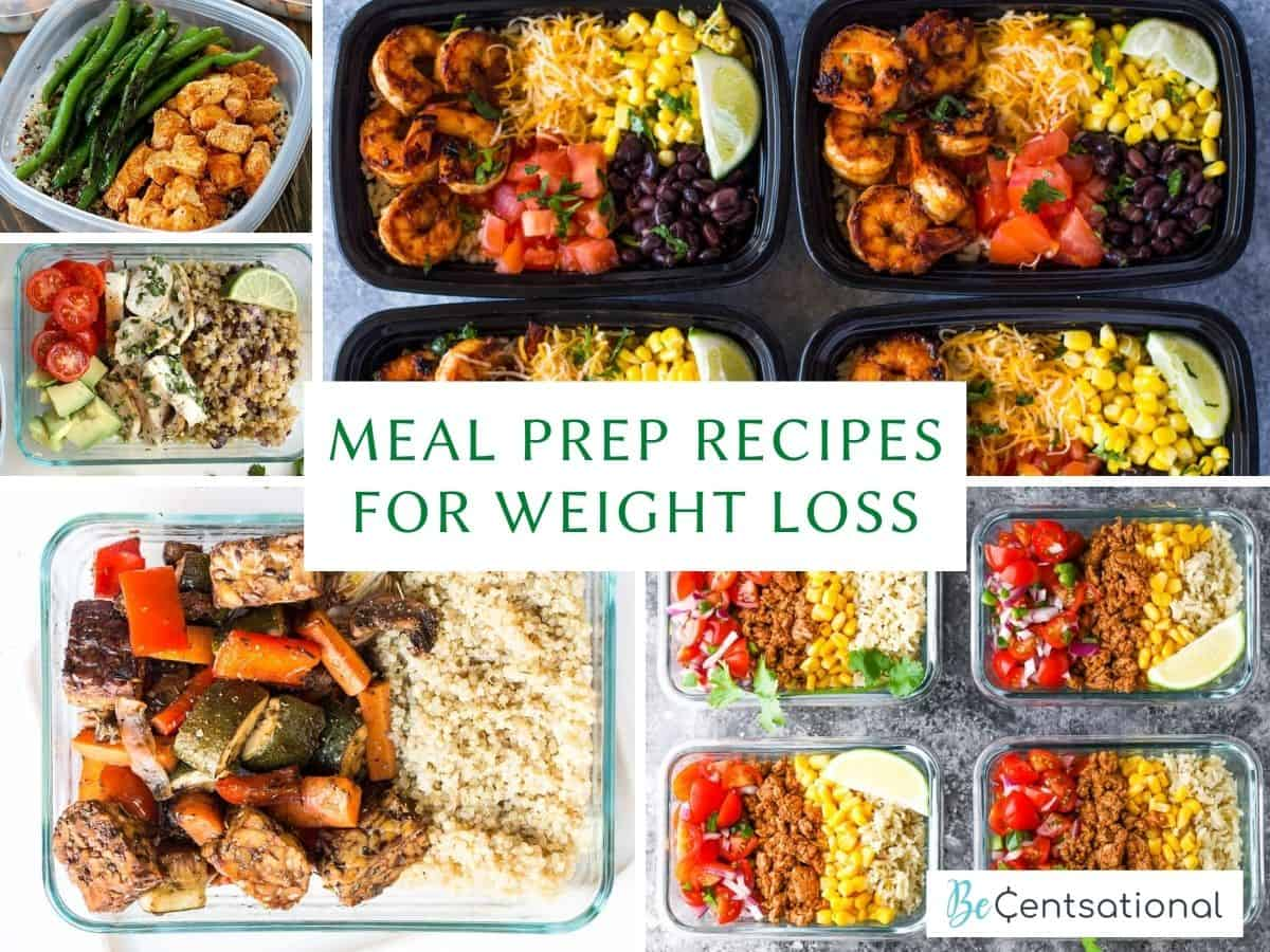Meal Prep Recipes For Weight Loss and Weight Loss Meal Prep Recipes