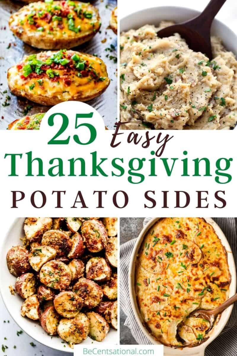 easy thanksgiving potato sides