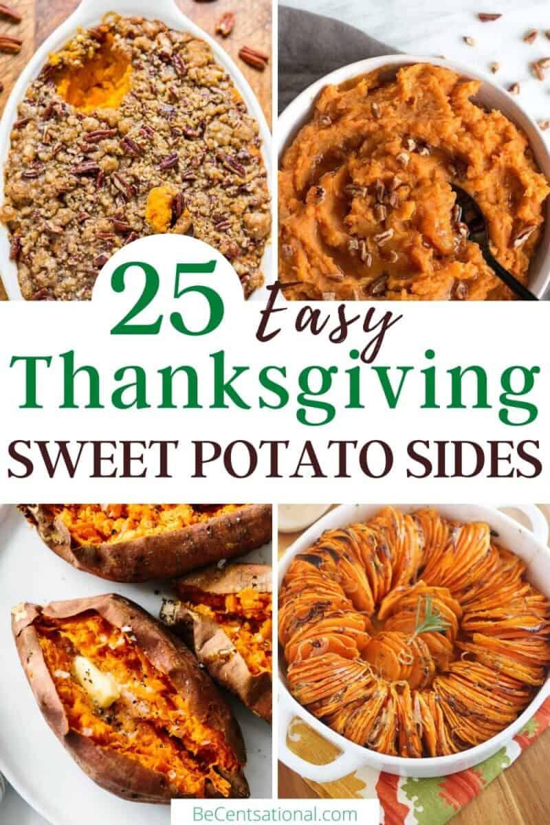 easy thanksgiving sweet potato sides