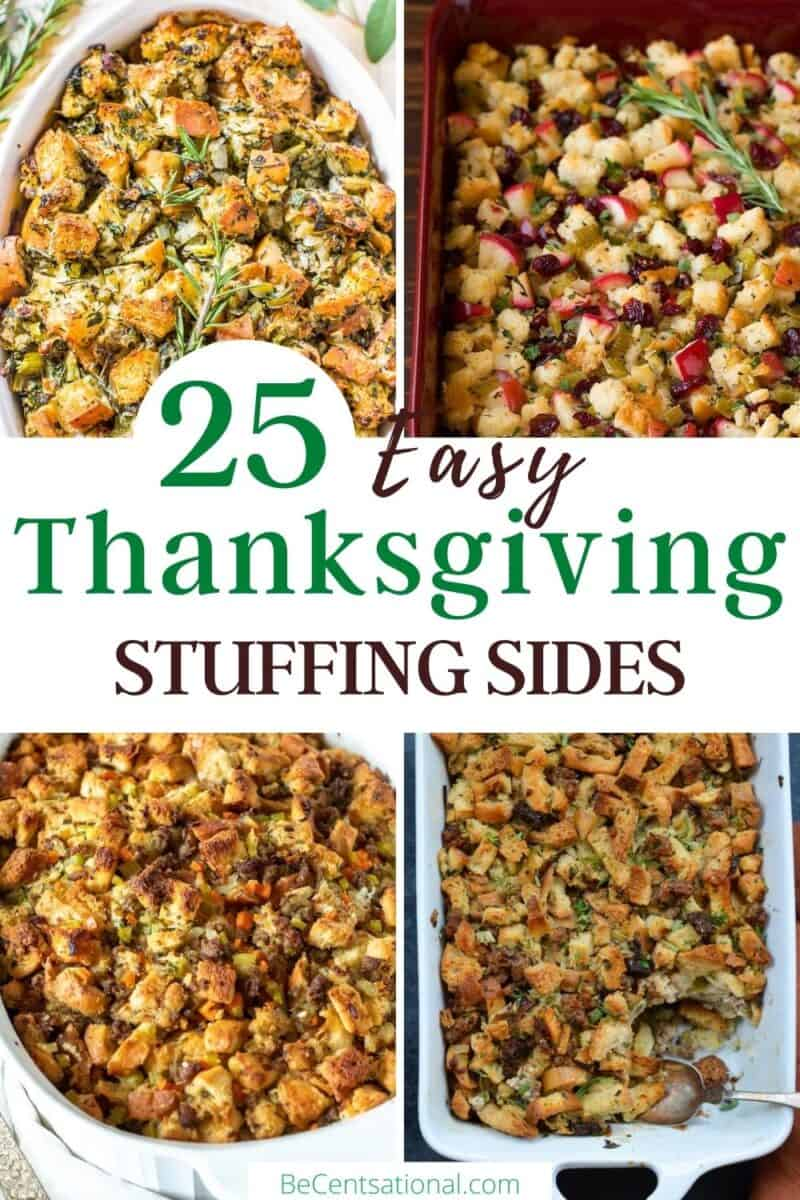 easy thanksgiving stuffing sides
