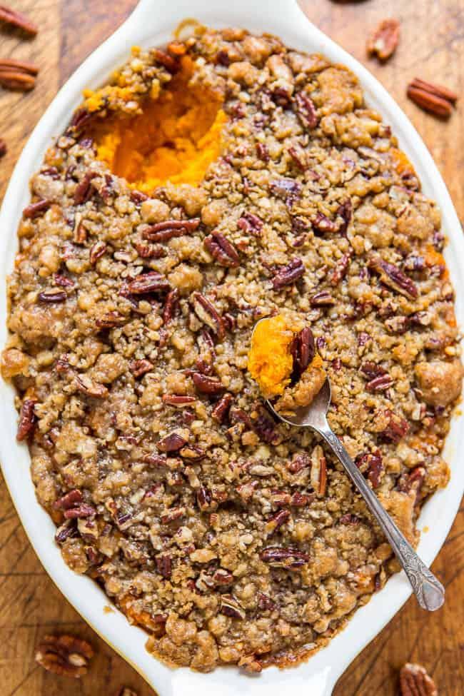 sweet potato casserole sweet potato thanksgiving side dishes