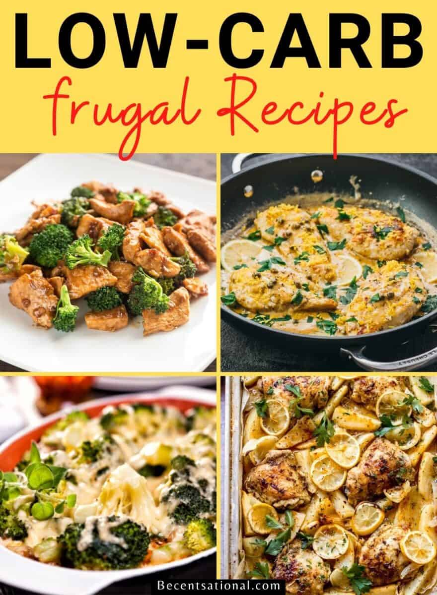 frugal low carb recipes